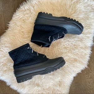 Sperry Top sider black duck boots